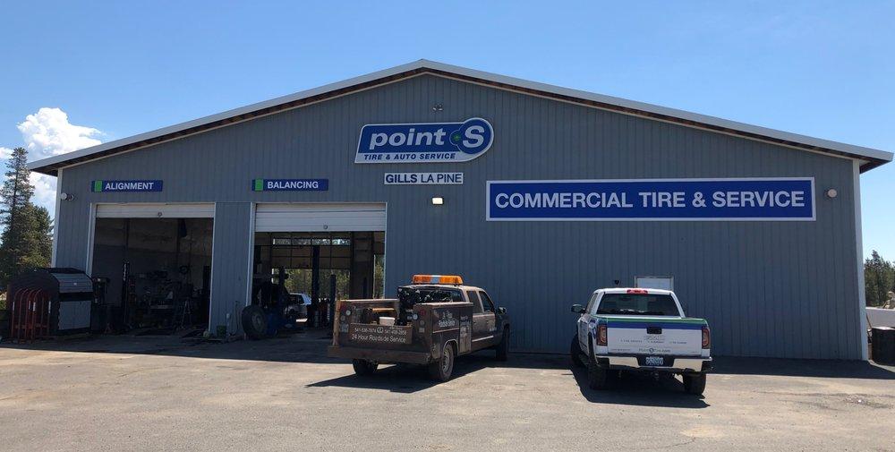 Gills Point S Tire & Auto - La Pine: 17070 Rosland Rd, La Pine, OR