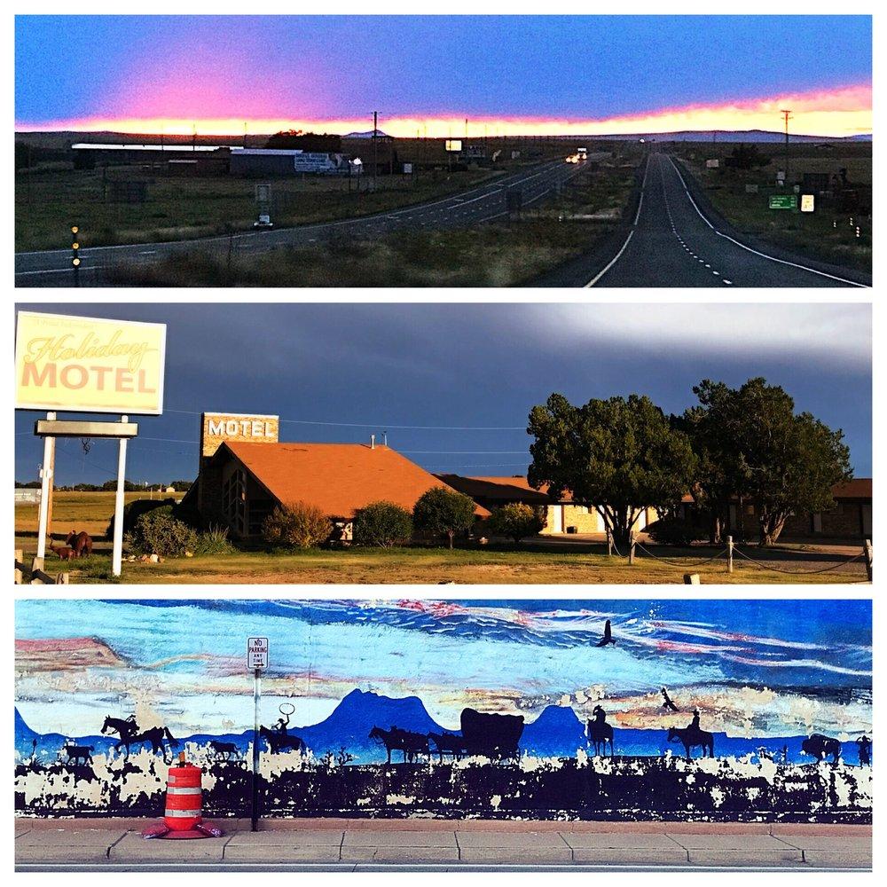 Holiday Motel: Hwy 87 N, Clayton, NM