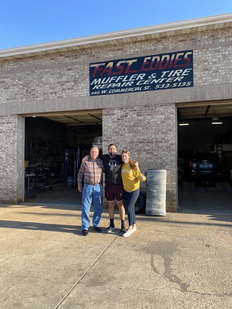 Fast Eddies Muffler Shop: 480 W Commercial St, Lebanon, MO