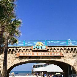 Photo Of Daytona Boardwalk Amut Area And Pier Beach Fl United States