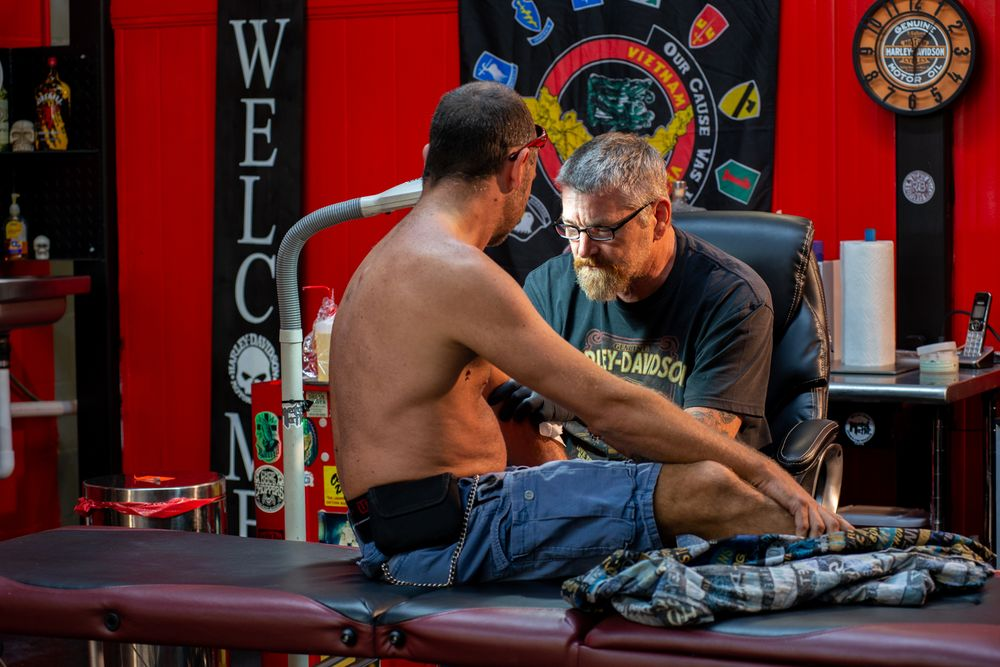 Studio 21 Tattoo: 132 S Atlantic Ave, Daytona Beach, FL