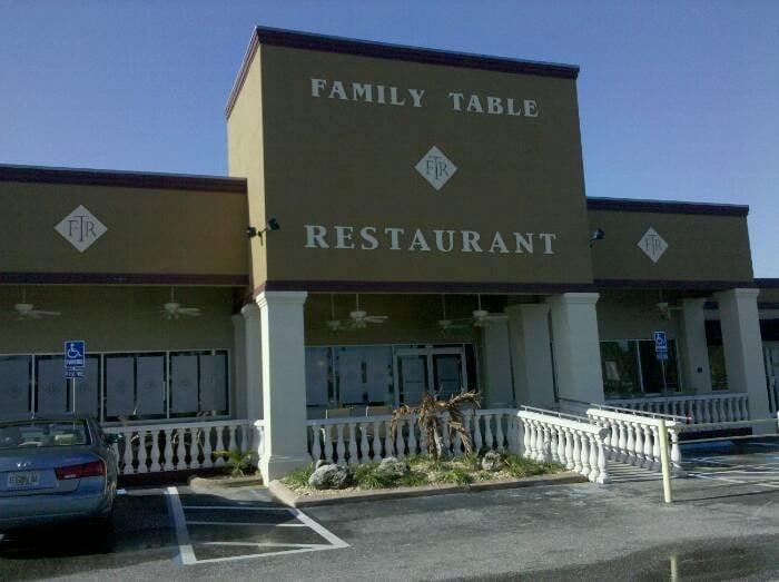 Family Table Restaurant North Port