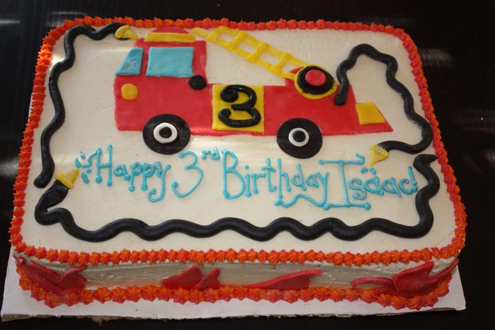 Order Birthday Fire Truck Cake Near Me