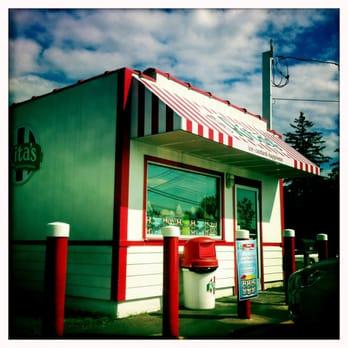 Rita s italian ice 11 reviews ice cream frozen for Milfords fish house