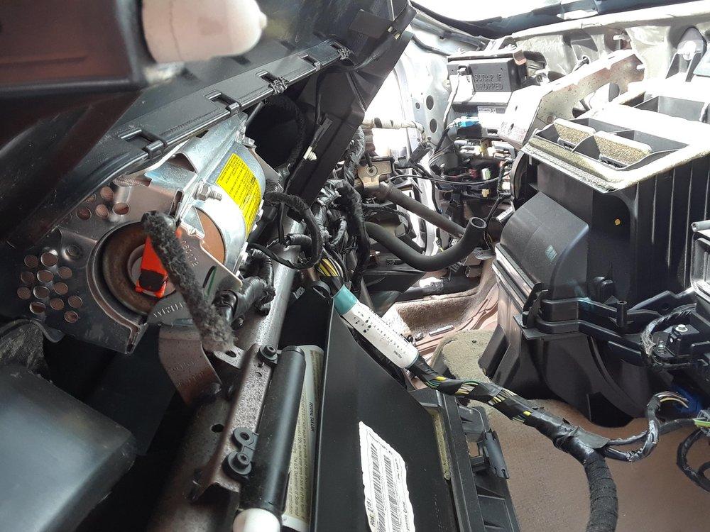 2006 Ford fusion Evaporator temperature sensor Dashboard