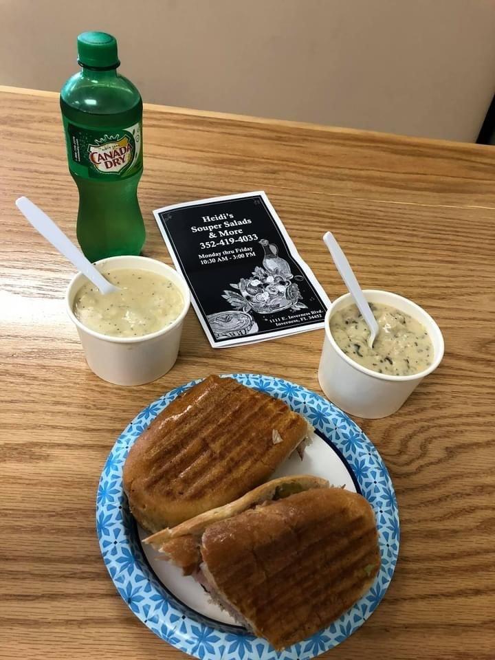 Heidi's Souper Salads & More: 1111 E Inverness Blvd, Inverness, FL
