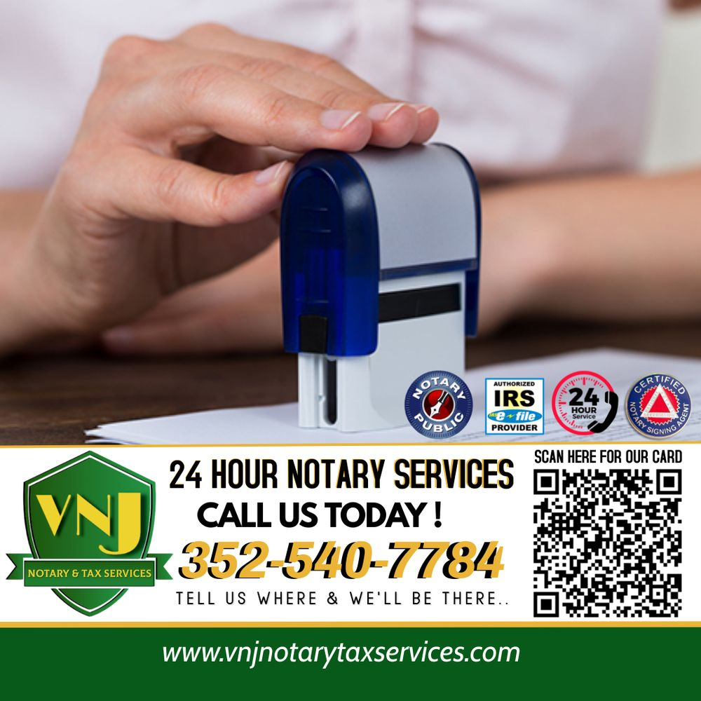 VNJ Notary & Tax Services