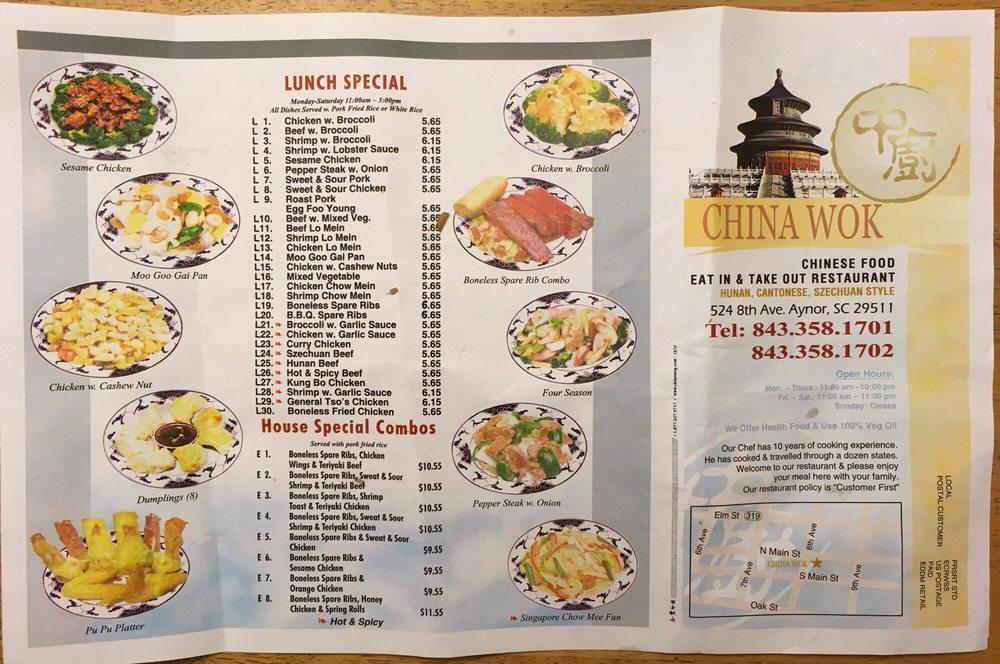 China Wok: 524 8th Ave, Aynor, SC