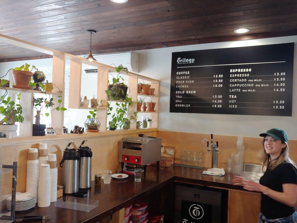 Trilogy Coffee Roasting: 136 W Georgia Ave, DeLand, FL