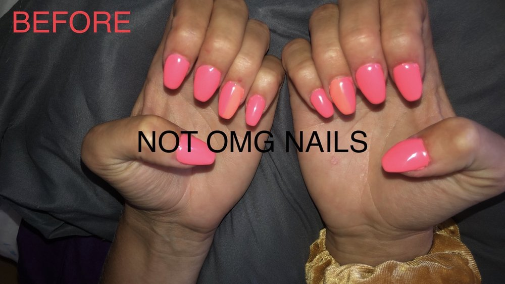 OMG Nails: 506 N Sullivan Rd, Spokane Valley, WA