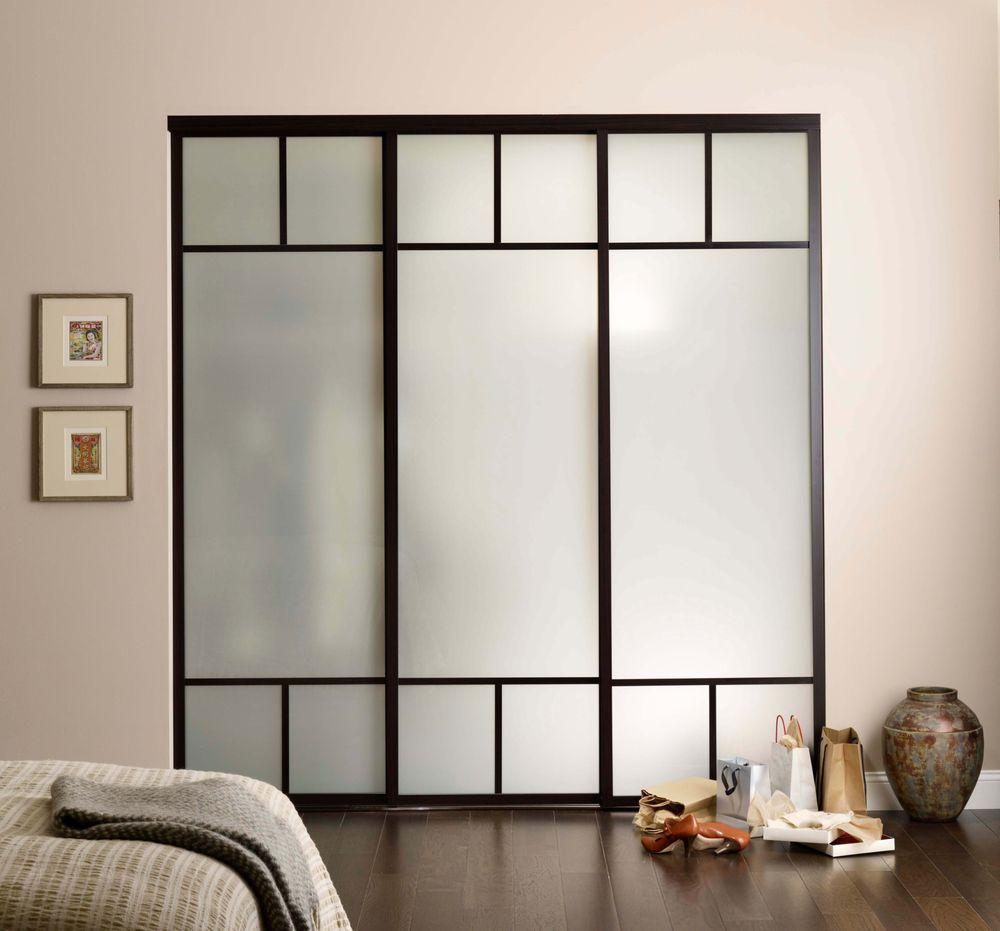 closet doors on triple track yelp. Black Bedroom Furniture Sets. Home Design Ideas