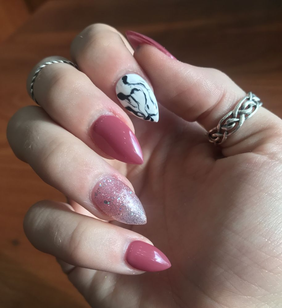 Unquie, beautiful nails done by Tim! - Yelp