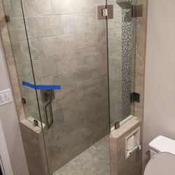 Photo Of ABC Glass   San Diego, CA, United States. The Shower Walls