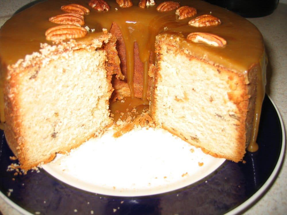 Auto Service Near Me >> Caramel Pound Cake w/roasted Pecans - Yelp