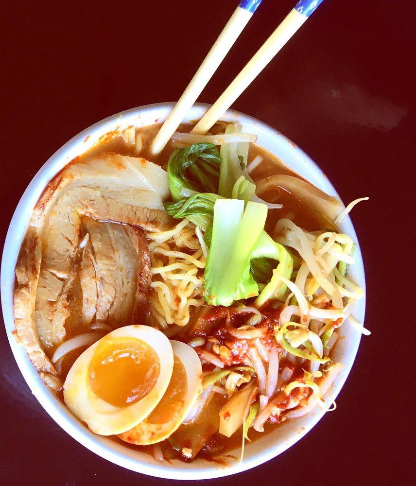 Food from Bozeman Hokkaido Ramen House