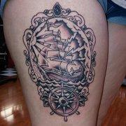 Gothic city tattoos 19 photos tattoo 3170 se dixie for Gothic city tattoos