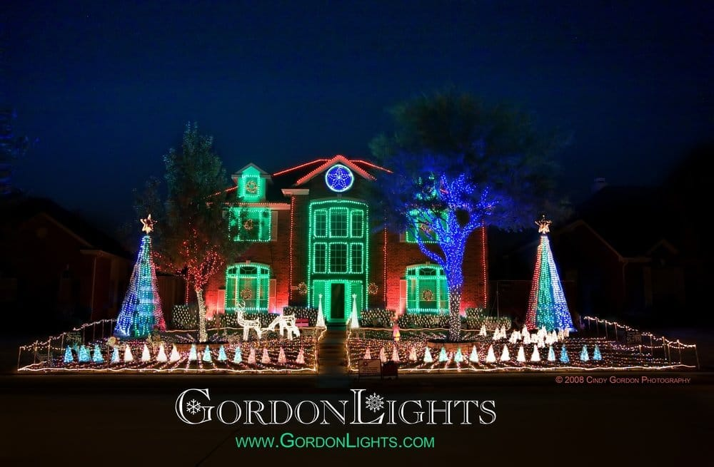 Gordon Lights Christmas Display: 4665 Quincy Ln, Plano, TX