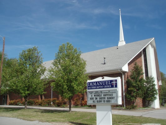 Immanuel southern baptist church churches 611 n - Exterior church crosses for sale ...