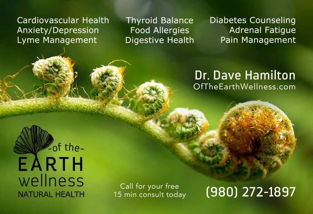 Of The Earth Wellness - Charlotte: 933 Louise Ave, Charlotte, NC