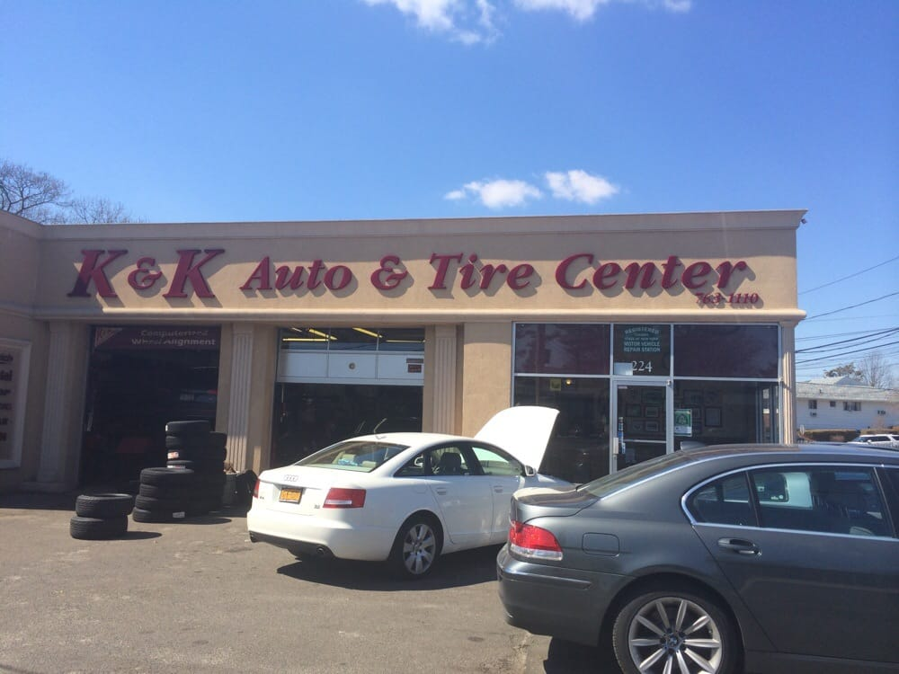 K & K Auto & Tire: 224 N Long Beach Rd, Rockville Centre, NY