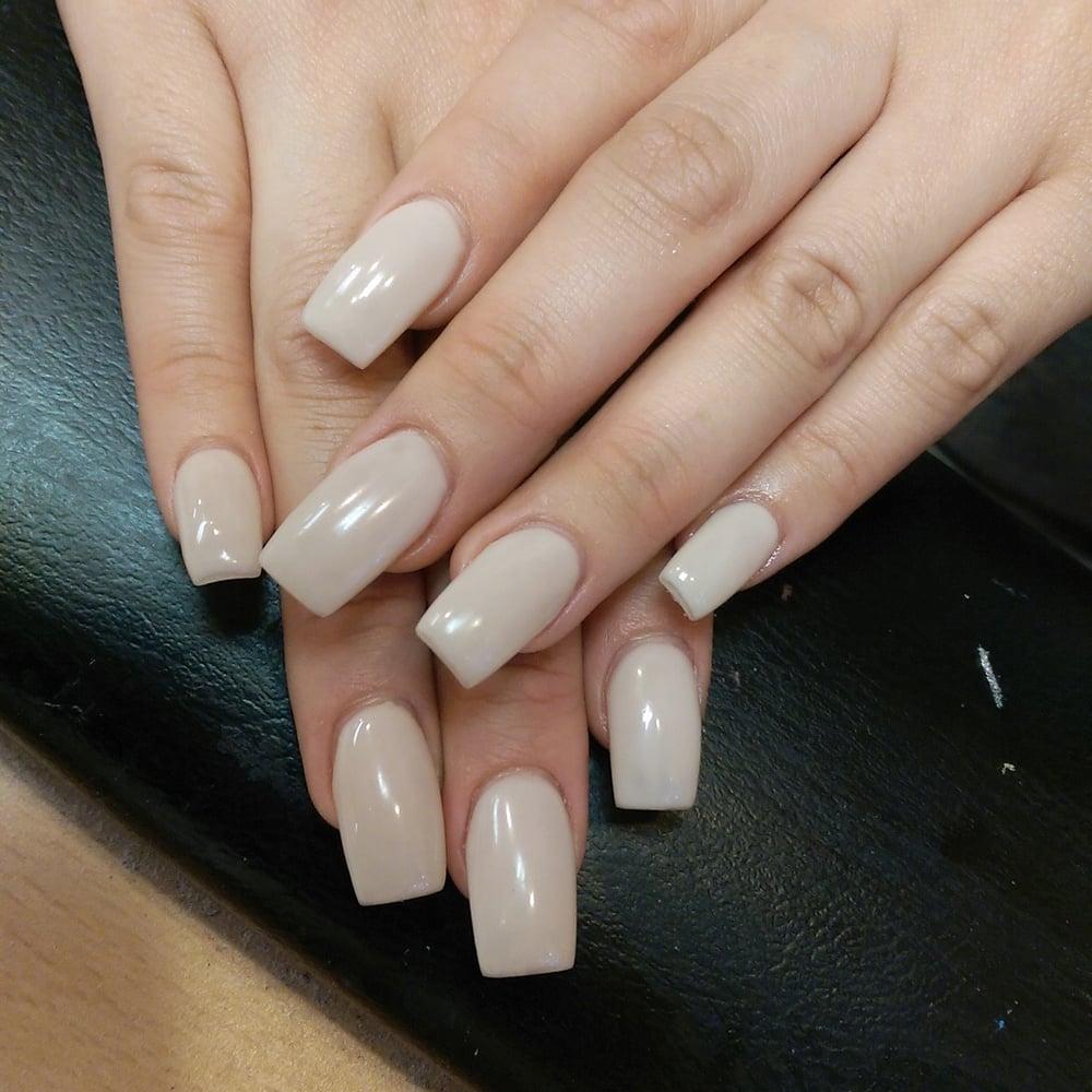Acrylic nails with gel polish..by christine. - Yelp