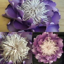 Wedding Paper Flower Design Wedding Planners Homerton High
