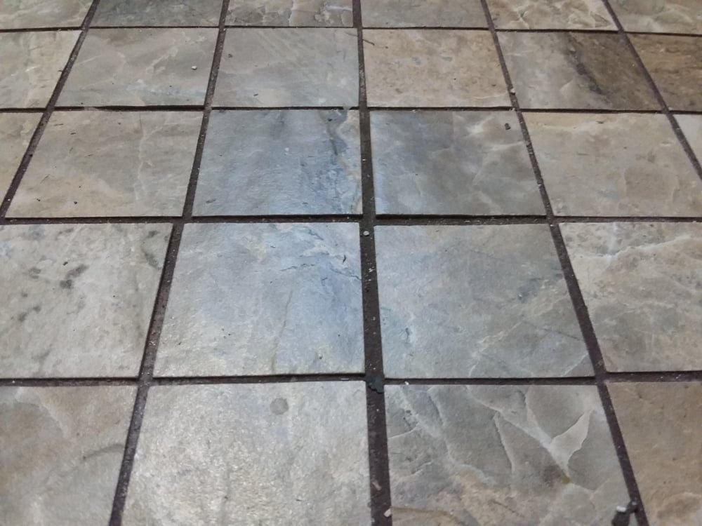 Tiles Not Aligned Grout Spacing Not Equal Yelp