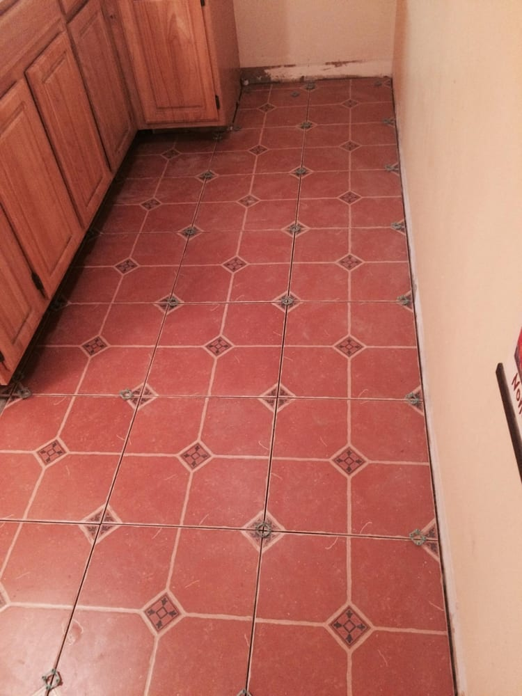 Kitchen Floor Tile With 16x16 Ceramic Tile Yelp