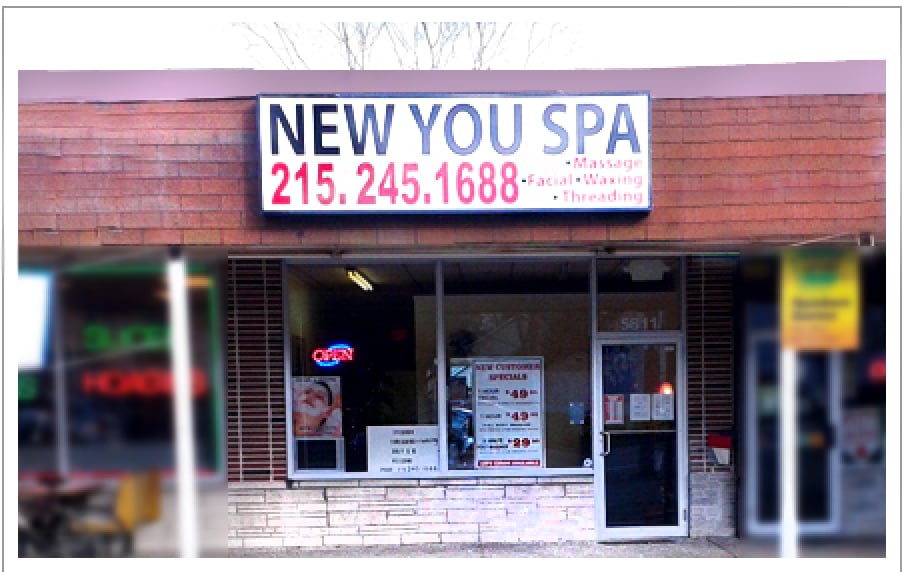 New You Spa: 5811 Bensalem Blvd, Bensalem, PA