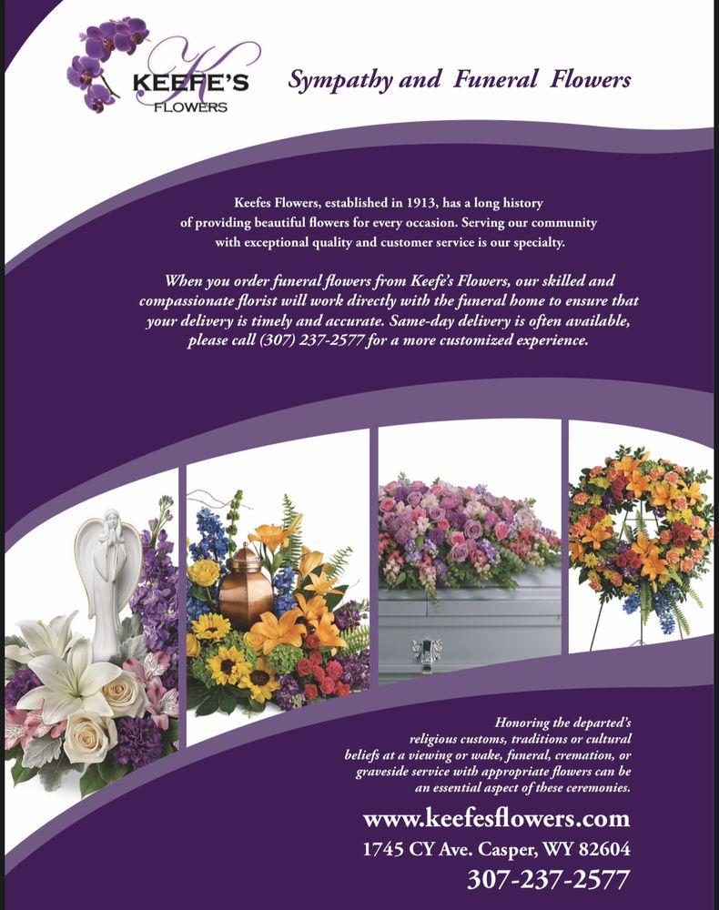 Keefe's Flowers: 1745 CY Ave., Casper, WY