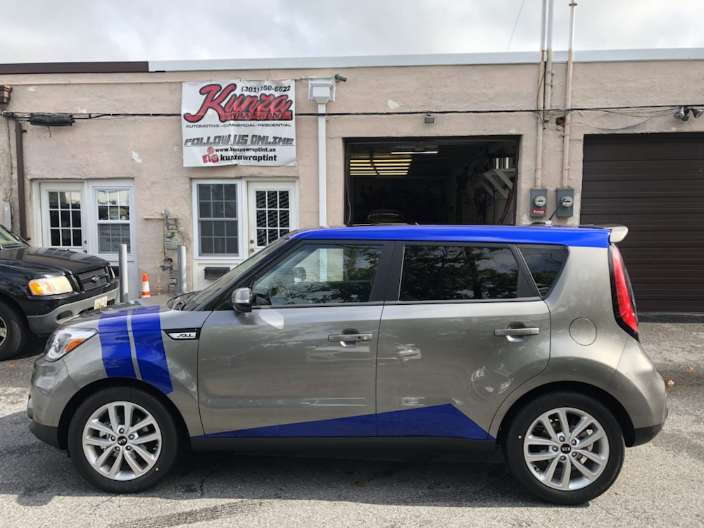 Kia Soul Cosmic Blue 3m Vinyl Wrapped For Our Customer Yelp