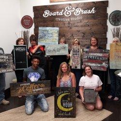 Board & Brush - 10 Photos - Art Classes - 111 N Oak Ave