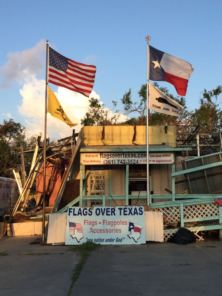 Flags Over Texas: 3205 A Hwy 35 N, Rockport, TX