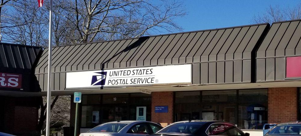 US Post Office: 19 Olney Sandy Spring Rd, Ashton, MD