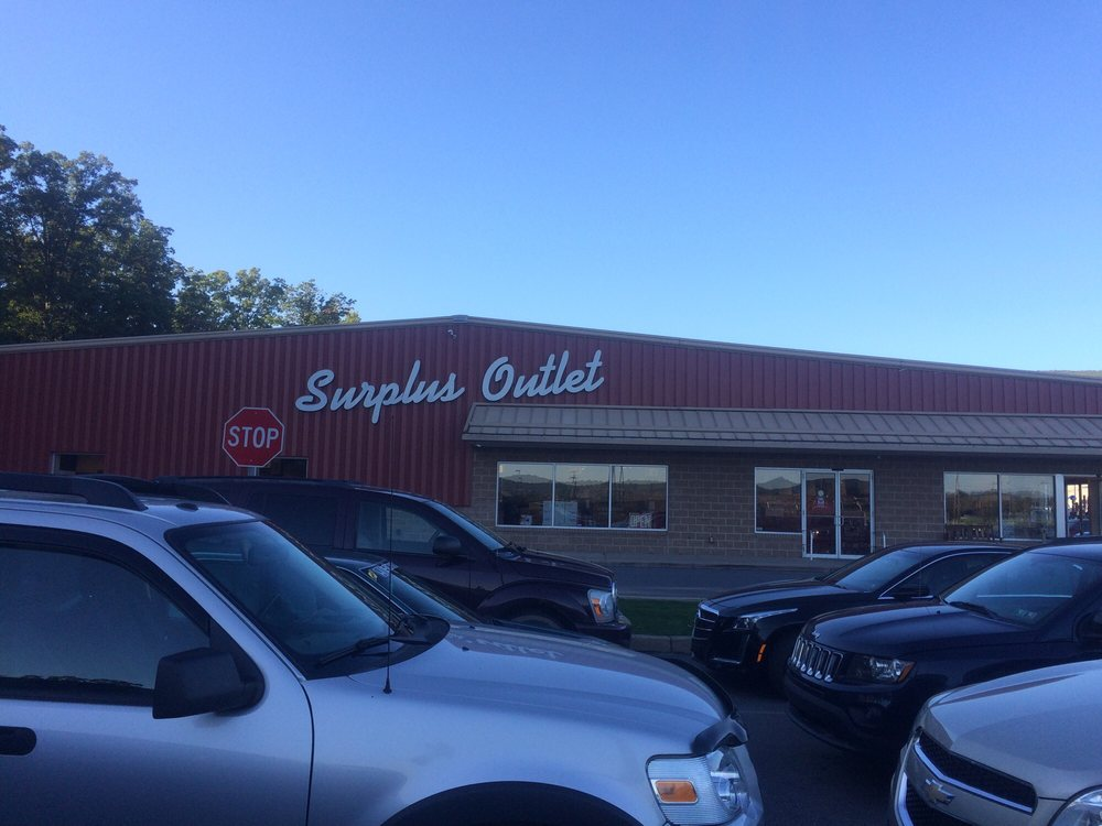 Surplus Outlet: 5464 US Hwy 15, Montgomery, PA