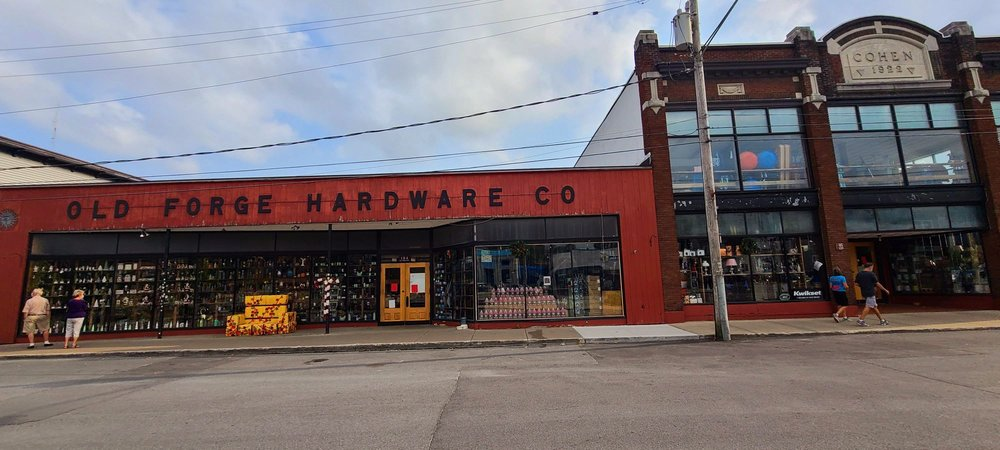 OLD FORGE HARDWARE: 104 Fulton House Spur, Old Forge, NY