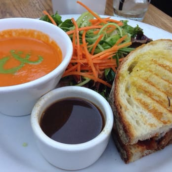 Tin Roof Bistro Bistro Lunch Special With Tomato Bisque