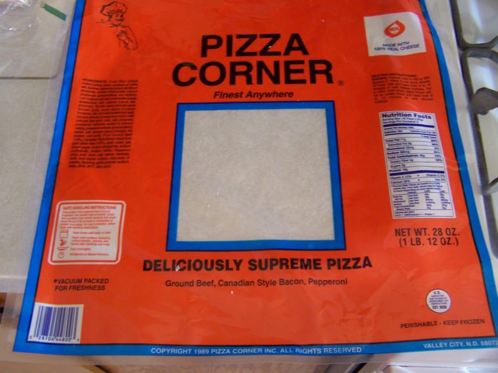 Pizza Corner Frozen Pizza: Valley City, ND