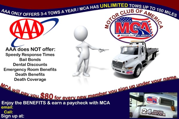 Motor club america auto repair 2920 pierce st for Aaa motor club phone number