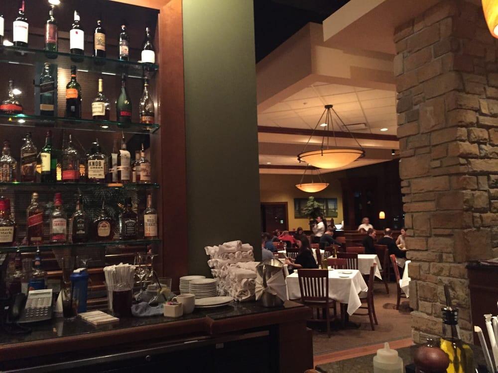 Italian Restaurant Near Me: Bar Into The Dining Room