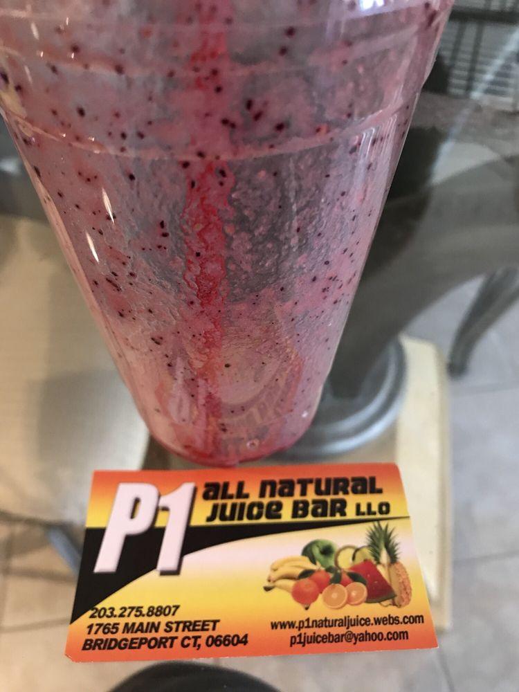 P One Natural Juice And Snack Bar Bridgeport