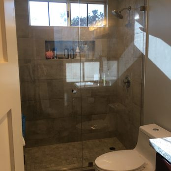 more enclosures shower doors skill read company inc zoom custom glass frameless in enclosure