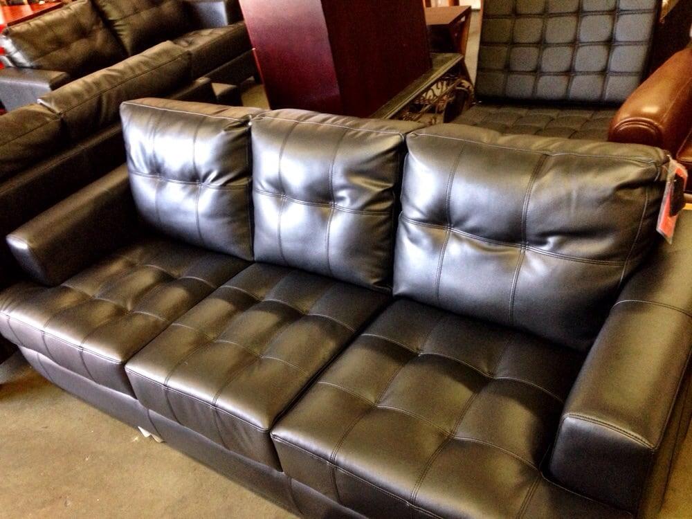 leather sofa around 550 yelp. Black Bedroom Furniture Sets. Home Design Ideas