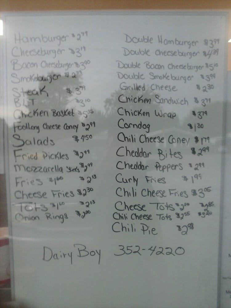Dairy Boy: 217 SW 3rd St, Minco, OK