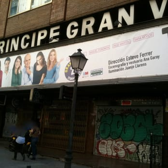 Teatro pr ncipe gran v a artes esc nicas calle de las Teatro principe gran via