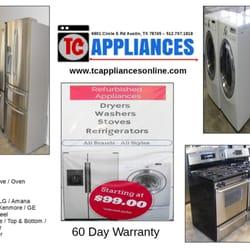 TC Appliances - CLOSED - Appliances & Repair - 6601 Circle S