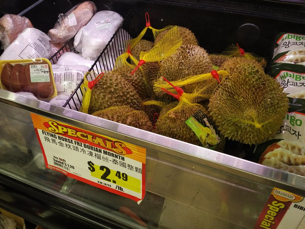 Frozen durian near the frozen seafood yelp photo of 99 ranch market cupertino ca united states frozen durian ccuart Image collections