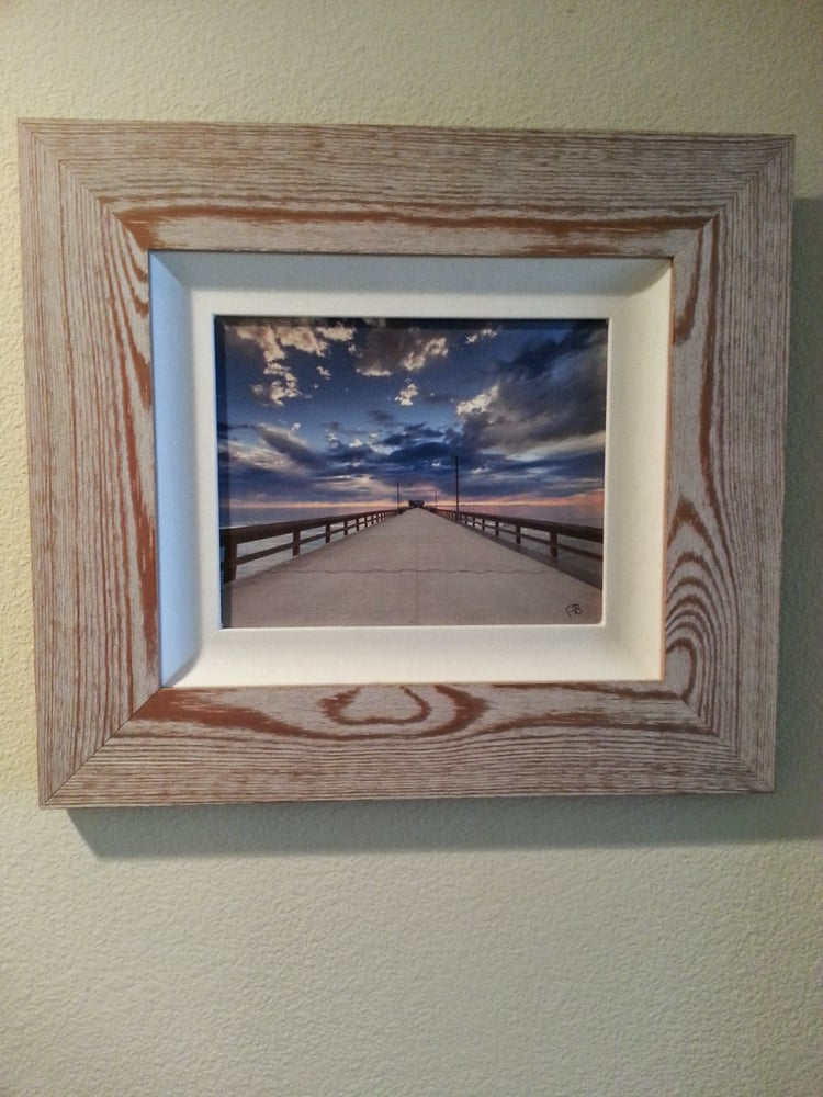 Medi picked the perfect frame for our painting. Thanks Medi and ...