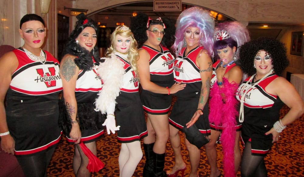 Bambi With The West Hollywood Cheerleaders At Quot Best In