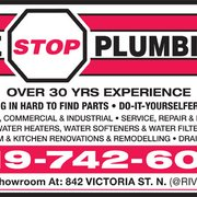 One Stop Plumbing Plumbing 842 Victoria Street N Kitchener On